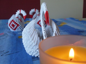 lebada-origami