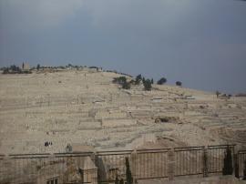 Cimitirul Ierusalimului la care Iisus va coborâ la cea de-a doua judecată